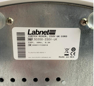 labnet vx-200底部实拍图