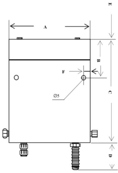 YZ61-B尺寸图