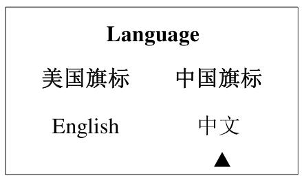 中英文选择